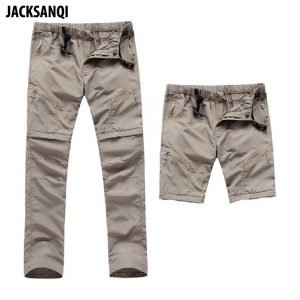 Quick Dry Detachable Hiking Pant 1