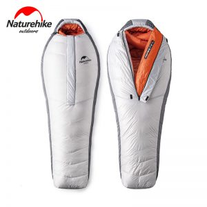 20D Arctic Alpine Goose Down Mummy Sleeping Bag 1