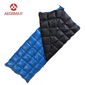 Blue White Duck Camping Sleeping Bag 1