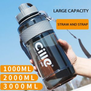 Large Capacity Plastic Water Bottle 1
