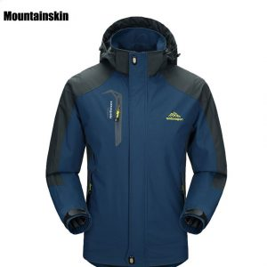 Soft Shell Water and Windproof Hiking Jacket 1