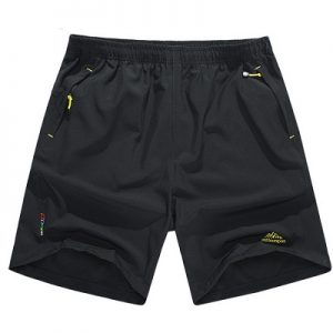 Black Breathable Hiking Short 8