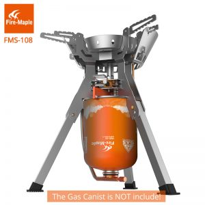 Powerful Portable Stainless Steel Camping Stove 1
