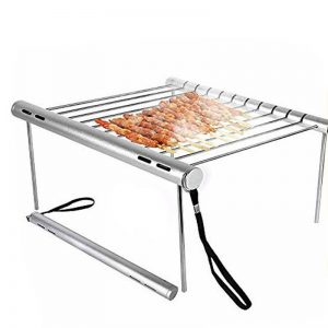 Stainless Steel Foldable BBQ Grill 1