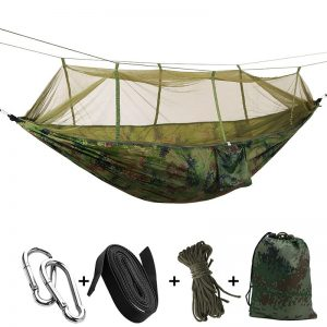 Camping Hanging Bed with Mosquito Net 17