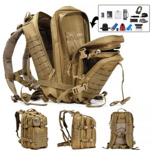 50L Multi Layer Military Backpack 1