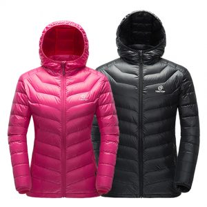 Unisex Ultralight Hooded Hiking Down Jacket 1
