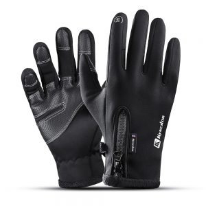 Thermal Fleece Hiking Gloves 1