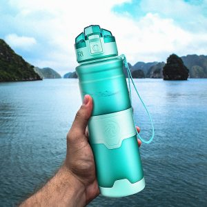 Portable Protein Shaker Water Bottle 1