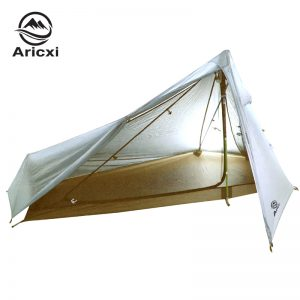 Oudoor Ultralight Camping Tent 3 Season 1 Single Person Professional 20D Nylon 1 Side Silicon Coating Rodless Tent 1