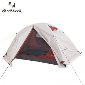 2P Backpacking Tent Outdoor Camping 4 Season Tent With Snow Skirt Double Layer Waterproof Hiking Trekking Tent 1