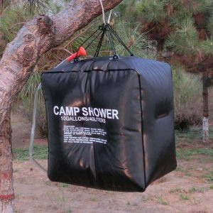 20/40L Solar Heated Camp Shower Bag 1