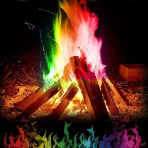 Magic Colorful Fire Flames Powder 1